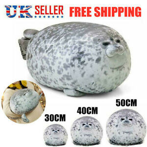 Kids Chubby Blob Seal Plush Toy Animal Cute Ocean Pillow Pet Stuffed Cute Doll