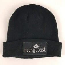 Rocky Coast reflective patch Winter Hat Cuff Rolled Watch Style Cap Wave Logo