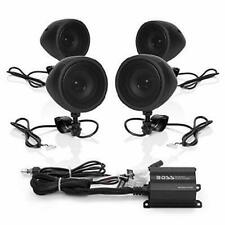 Boss Audio Systems MCBK470B Motorcycle Bluetooth Speaker System - Class D...