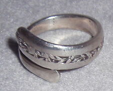 Towle Rambler Rose Current Pattern Sterling Spoon Ring Gift SZ 8 AS IS