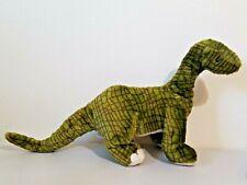 "Fiesta Green Brontosaurus Dinosaur Stuffed Animal Plush 28"""