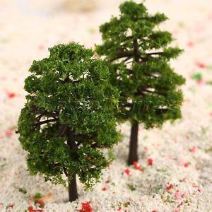 20pcs Model Trees Layout Dollhouse Park Landscape Wargame HO OO Scale 1:100 9cm
