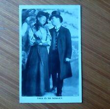 """This Is So Sudden"" Edwardian Postcard, 1909. Davidson Bros. London & New York."