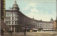 Indianapolis, INDIANA - Hotel English - horse & wagon