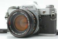 【Exc 5】Canon AE-1 35mm SLR Film Camera w/FD 50mm f/1.4 S.S.C From Japan 379