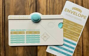 ★WRMK★ Mini Envelope Punchboard... Mini-Umschläge... neuwertig