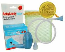 Nasal Aspirator Hygienically Removes Baby's Mucus Nose Cleaner Bugger Sucker New