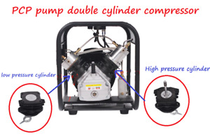 30MPA High Pressure PCP Pump Double Cylinder Air Compressor Connect Rods Piston