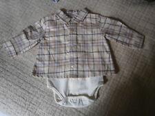 body chemise burberry  neuf 1 mois  (taille plutot 3/6 mois )
