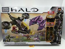 HALO Mega Bloks -  UNSC Hornet vs. Covenant Vampire (97123) NEW Factory Sealed.