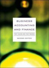 Business Accounting & Finance, Davies, Tony & Boczko, Tony, Used; Good Book