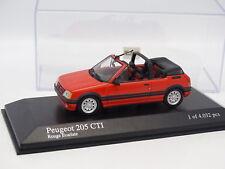 Minichamps 1/43 - Peugeot 205 CTI Rojo