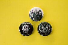 "3 1"" Motorhead Lemmy Kilmister Philthy Animal- pinback badges buttons"