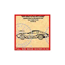 US Patent - BMW 507 AUTOMOBILE-1957 Raymond Loewy #765