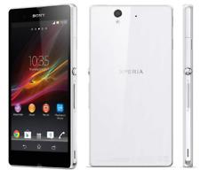 Unlocked Sony Ericssion Xperia Z C6603 Androide Teléfono Móvil 16GB 13.1MP White
