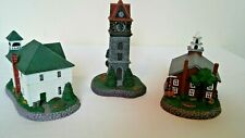 Rockwell Main Street Collection-Firehouse, Bell Tower, & Church on Green