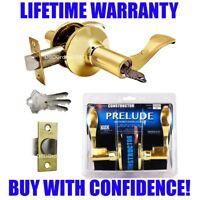 Constructor Entry Lever Door Lock Set Knob Handle Hardware Privacy Dummy Passage