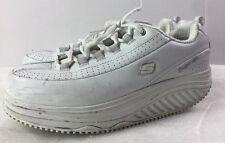 Skechers Shape Ups 76428EW White Work Slip Resistant Shoes SIZE 9.5