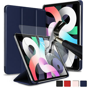 """For iPad Air 4th Gen 10.9"""" 2020/Pro 11 Case Leather Smart Cover/Screen Protector"""