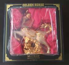 Rare Collectible McCray 12 Year Whisky Golden Horse Limited Edition Bottle