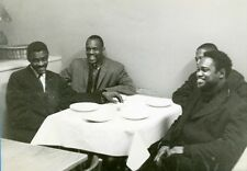 """Earl Buster SMITH,Idress SULIEMAN,Oscar DENNARD,Jamil NASSER"" Photo originale"