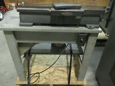 """Antique Sears. Roebuck, Craftsman 4-3/8"""" Woodworking Jointer on Custom Stand(DB)"""