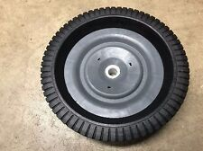One Ohio Steel Tow-Behind Lawn Leaf Sweeper Wheel Tire Complete Assembly 307011