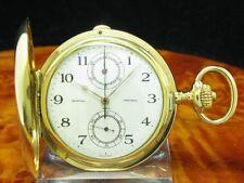 Vacheron & Constantin 18kt 750 Gold Savonette Taschenuhr Chronograph von 1911