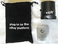 """2008 eBay Collectible Branded Travel Plug-""""Plug-In to the eBay Platform"""" in Bag"""