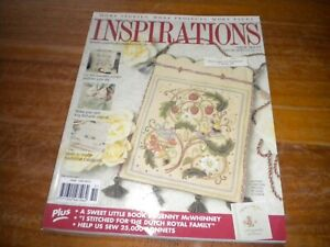 INSPIRATIONS MAGAZINE ISSUE 51 WITH ATTACHED PATTERNS
