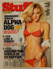 Stuff Magazine #87 February 2007 Dominique Swain Alpha Dog Movie Bikini