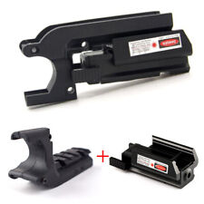 Hunting Rail Adapter Mount For 1911 M1911+Red Dot Laser Sight For Glock 17