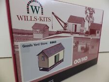 ** NEW **  WILLS  - SS63  GOOD  YARD  STORE  OO / HO GAUGE
