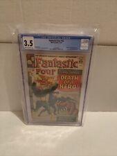Fantastic Four # 32. CGC 3.5. Marvel 11/64. 🔥🔥🔥. Letter From RR Martin.