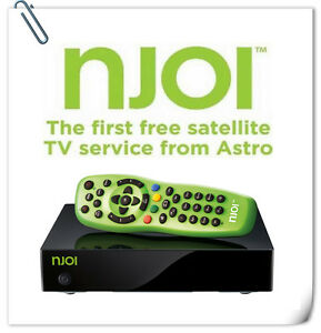 FREE INSTALLATION NJOI THE FIRST FREE SATELLITE TV SERVICE FROM ASTRO