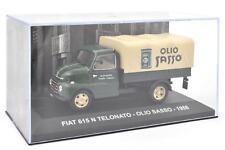 """DIE CAST """" FIAT 615 N TELONATO - OLIO SASSO - 1958 """" VEICOLI PUBBLICITARI 1/43"""