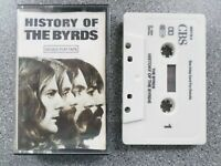 THE BYRDS - HISTORY OF THE BYRDS - CASSETTE TAPE ALBUM