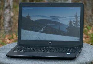 HP ZBook 15 G3 Intel Core I7 6820HQ. 32GB RAM. 500GB SSD. Warranty