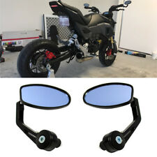 "Motorcycle Mini Sport 7/8"" Handle Bar End Side Mirrors For Kawasaki Z125 PRO US"