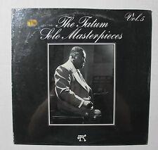 ART TATUM The Tatum Solo Masterpieces LP Pablo Rec 2310-790 US 1977 M SEALED 9B
