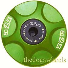 A2Z Anodised Alloy Headset Compressor Topcap Top Cap Green  MTB Bicycle Bike