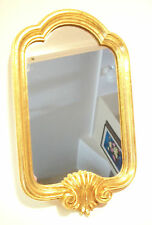 Vintage Florentine Style Gilt Wood Mirror - Italy - Late 20th Century