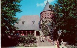 John James Audubon Museum Henderson KY 1950's Postcard