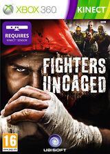 Fighters Uncaged Kinect Juego ~ Xbox 360 (en Perfectas Condiciones)