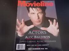 Alec Baldwin, James Garner - Movieline Magazine 1994