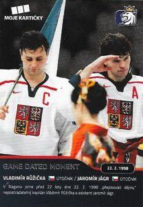Jaromir Jagr, 2020 czech National team set, Rangers, Penguins, Panthers
