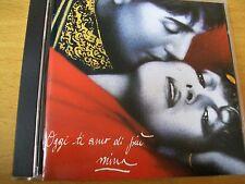 MINA OGGI TI AMO DI PIU  CD MINT- PDU 1988