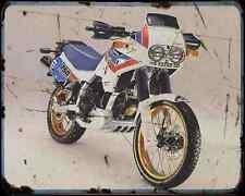 CAGIVA ELEFANT 750 89 2 A4 Metal Sign moto antigua añejada De