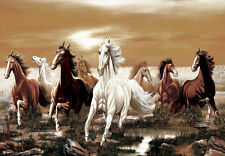 1000Piece Jigsaw Puzzle Gallop the Horses Hobby Gift Home Decoration DIY