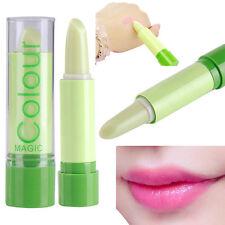 HengFang Magic Temperature Change Color Lipstick Moisture Green to Pink Lip Balm